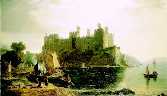 Conway Castle, North Wales by William Daniell (GL)