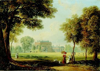 Bushy House, Bushy Park, Surrey, Seat of Duke of Clarence by Henry Brian Ziegler. (GL)