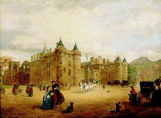 Holyrood, 1859 by George Washington Brownlow. (GL)