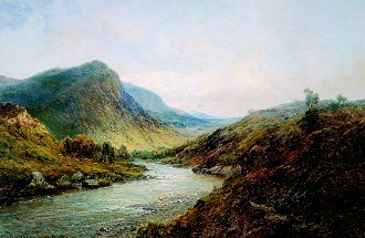 The Valleys of Stirling by Alfred de Breanski. (GL)