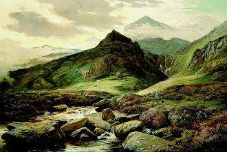 Snowdonia by Richard Sidney Percy. (GS)