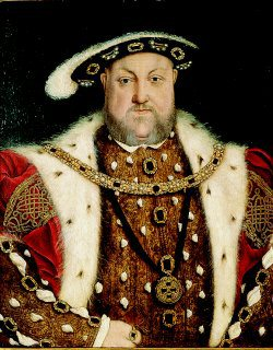 Portrait of Henry VIII by Hans Holbein (GL)