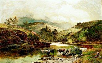 Glen Falloch, 1878 by Richard Sidney Percy (GL)