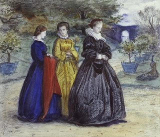 Mary Queen of Scots by Sir John Everett Millais. (1829-1896) (GS)
