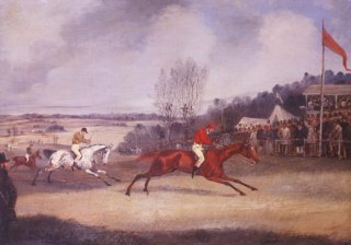 The Finish. The Forest Stakes by Henry Alken. (GS)