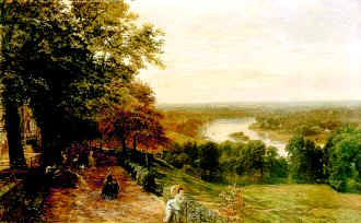 Richmond Hill by George Vicat Cole. (GS)