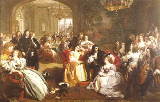 King Charles IIs last Sunday  by William Powell Frith  (GL)