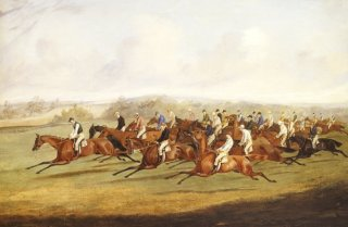 The Derby by Henry Alken (Snr)  (1774 - 1815) (GS)