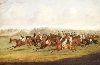 The Derby by Henry Alken (Snr)  (1774 - 1815) (GS)