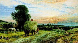 Evening, 1861 by Henry Dawson. (GL)