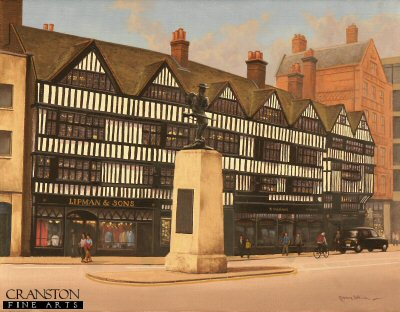 Staple Inn (Chancery Lane) by Graeme Lothian. (P)