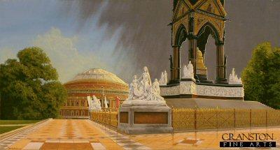 Albert Hall and Memorial by Graeme Lothian. (GS)