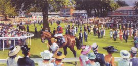 Royal Ascot Jubilee 2002 by Peter Curling.