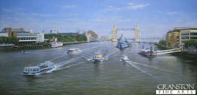 The View East from London Bridge by Graeme Lothian.