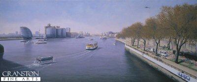 City Hall - London Marathon 2003 by Graeme Lothian. (GS)