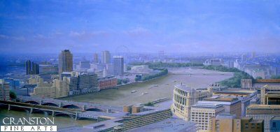 Thames View from the top of St Pauls by Graeme Lothian.