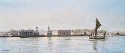Greenwich - Old Royal Naval College by Graeme Lothian. (GS)