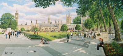 Parliament Square by Graeme Lothian. (GS)