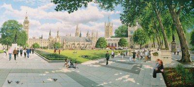Parliament Square by Graeme Lothian. (GS)