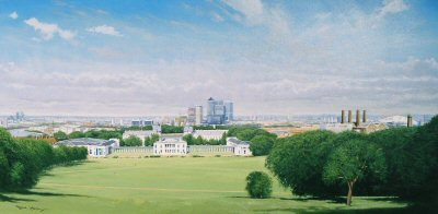 Greenwich - Isle of Dogs by Graeme Lothian. (P)