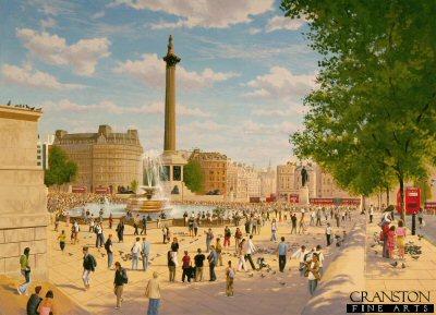 Trafalgar Square by Graeme Lothian. (P)