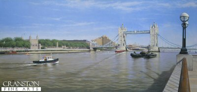 Tower Bridge and Tower of London by Graeme Lothian.