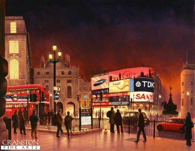 Piccadilly Circus by Graeme Lothian. (P)