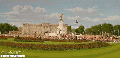 Buckingham Palace by Graeme Lothian. (P)