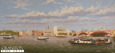 Thames and St Pauls from the South Bank by Graeme Lothian. (GS)