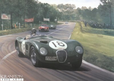 1953 Le Mans by Graham Turner.