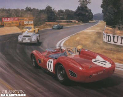 1960 Le Mans by Graham Turner.