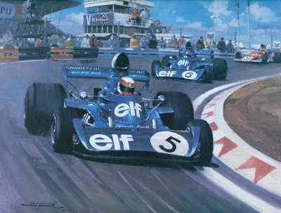 1973 Dutch GP by Michael Turner.