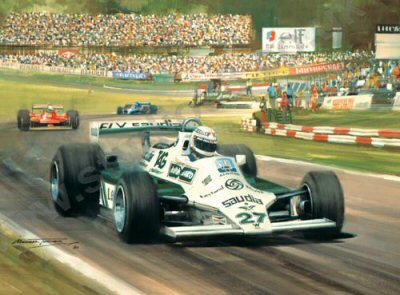 1980 British Grand Prix by Michael Turner.