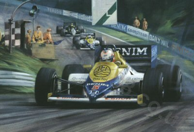 1985 European Grand Prix by Michael Turner.