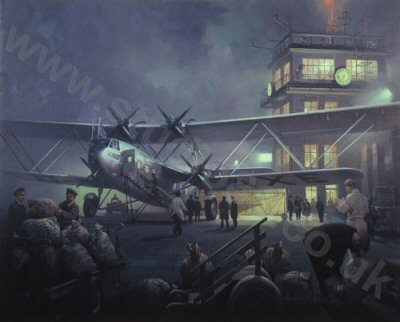 Night Mail to Paris by Michael Turner.
