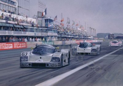1989 Le Mans by Michael Turner.