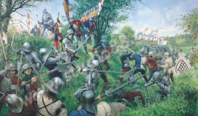 The Battle of Tewkesbury, 4th May 1471 by Graham Turner.