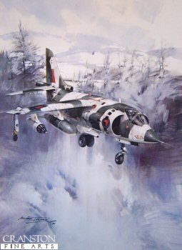 Snow Harrier by Michael Turner.