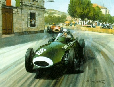 1957 Grand Prix of Pescara by Michael Turner.