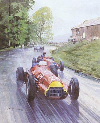 1951 Swiss Grand Prix by Michael Turner.