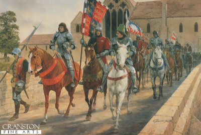 The March from Leicester by Graham Turner