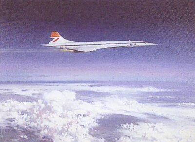 Concorde by Michael Turner.