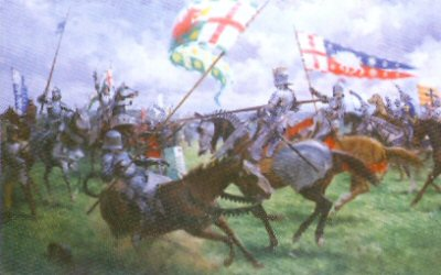 The Battle of Bosworth - King Richard IIIs Charge by Graham Turner