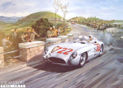 1955 Mille Miglia by Michael Turner