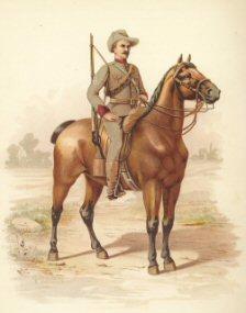 Victorian Mounted Rifles by H Bunnett (P)