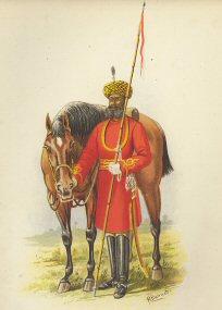 The Governer-generals Body-Guard (Calcutta)  by H Bunnett (P)