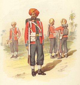 15th Regiment of Sikhs by H Bunnett (P)
