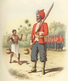 1st Madras Pioneers by H Bunnett (P)