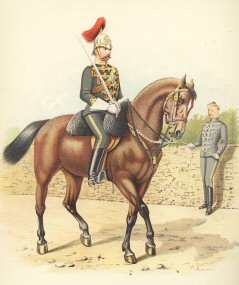 The 6th Regiment of  Cavalry (Hussars, Canada) by H Bunnett (P)