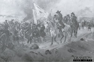 Battle of Ramillies, 1706 by Henry Dupray.
